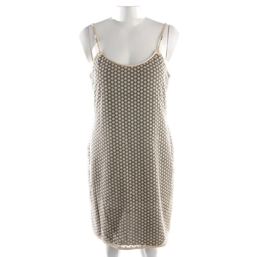 dress from Diane von Furstenberg in khaki and gold size M - new