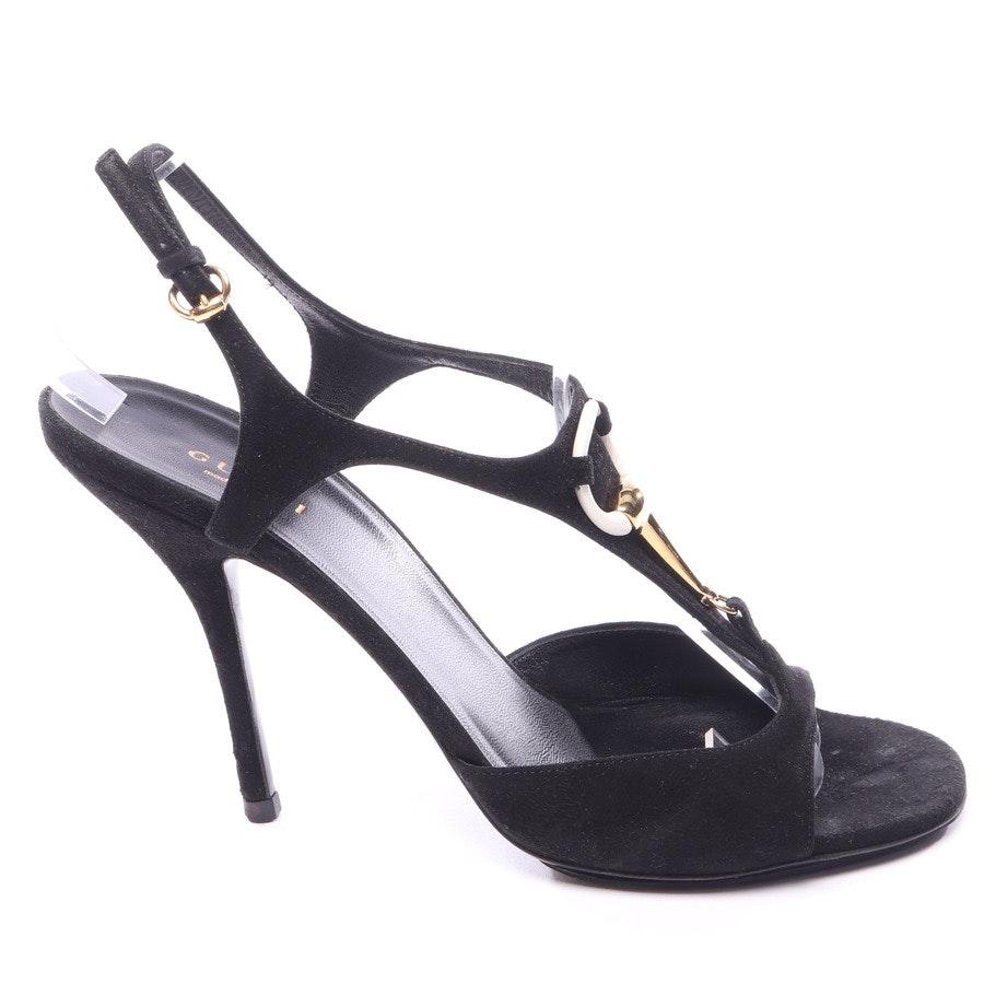 Sandaletten von Gucci in Schwarz Gr. EUR 38,5