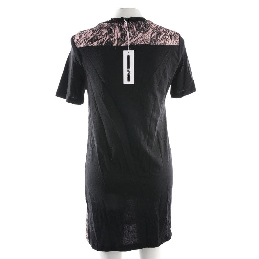 Kleid von Alexander McQueen McQ in Rosa und Schwarz Gr. M - Neu