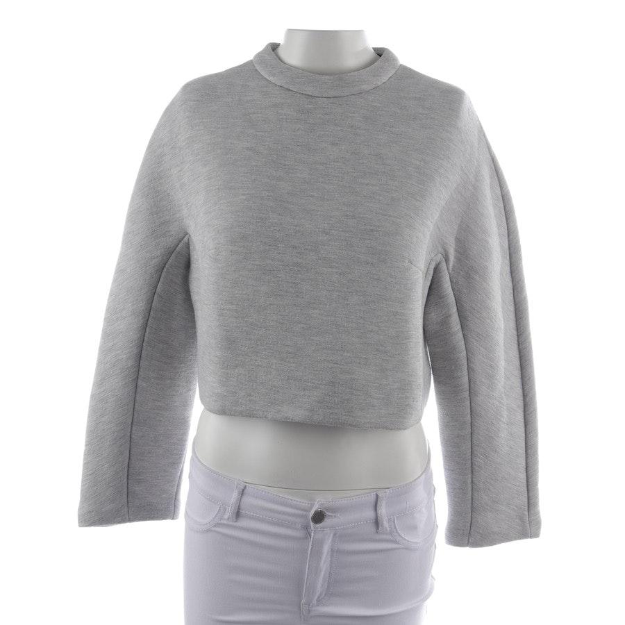 Sweatshirt von Proenza Schouler in Grau meliert Gr. 36