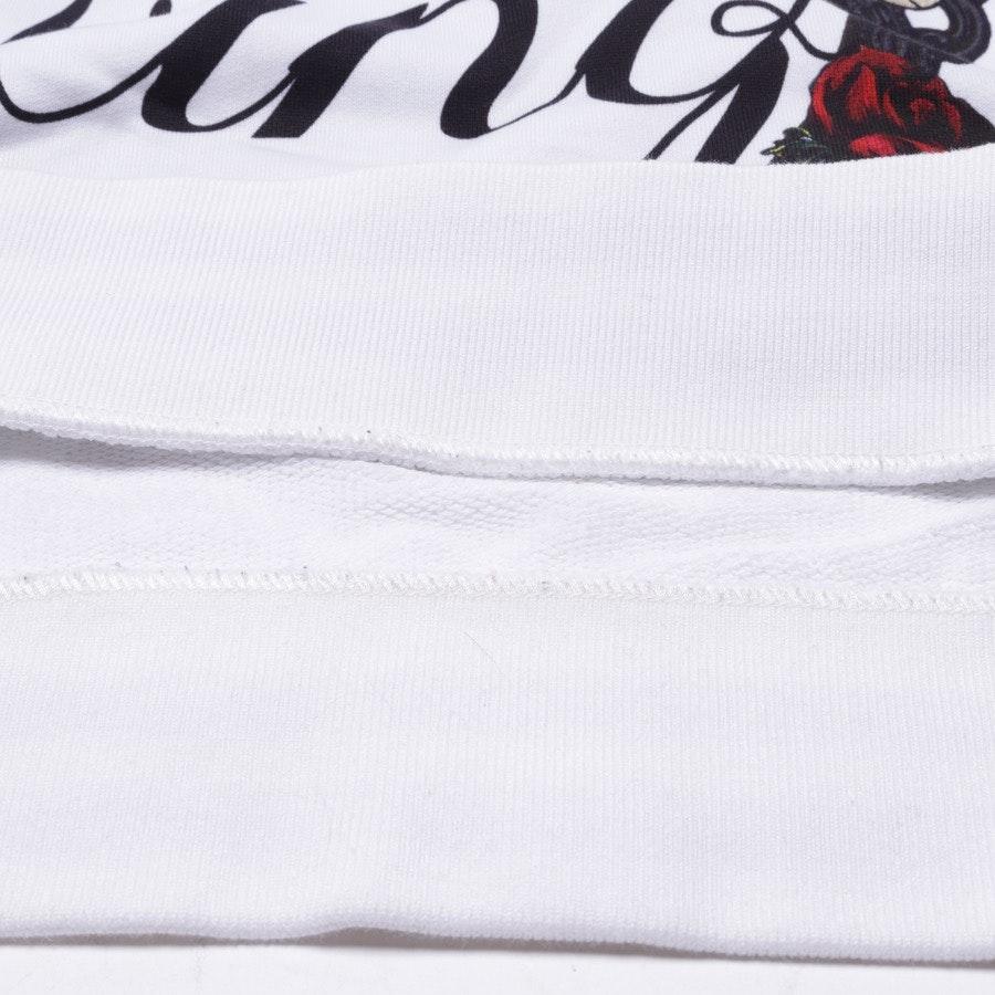 Kapuzenpullover von Dolce & Gabbana in Weiß und Rot Gr. 40 IT 46