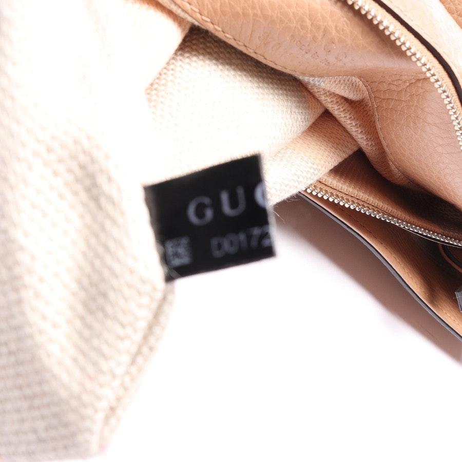 Schultertasche von Gucci in Beigerosa