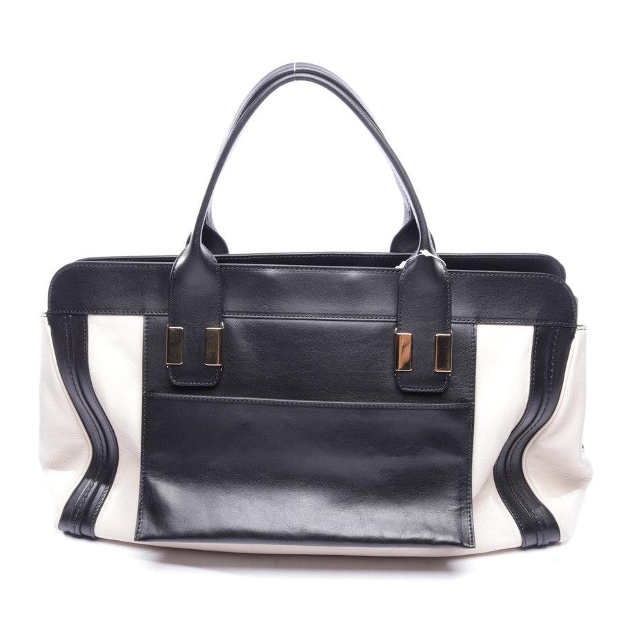 Handtasche von Chloé in Creme und Schwarz