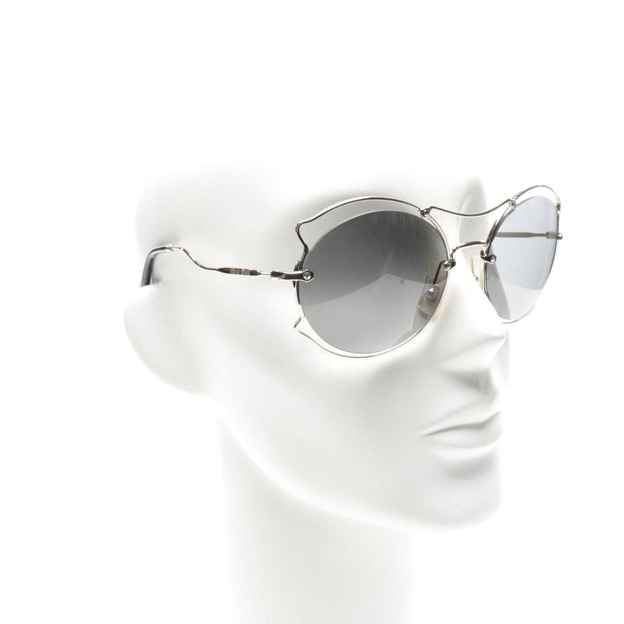 Sonnenbrille von Miu Miu in Gold - SMU50S