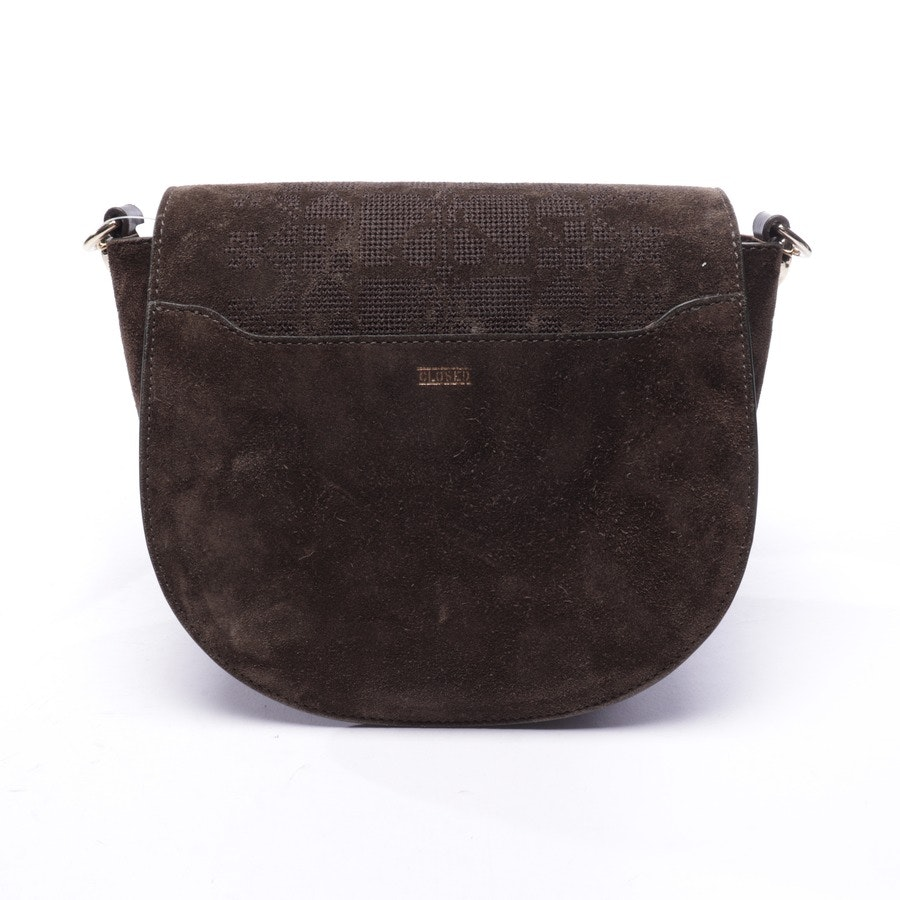 shoulder bag from Closed in green and brown