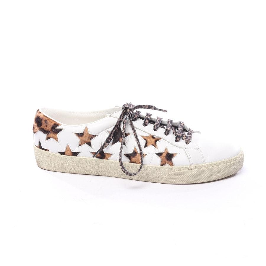 Sneaker von Saint Laurent in Weiß und Braun Gr. EUR 40