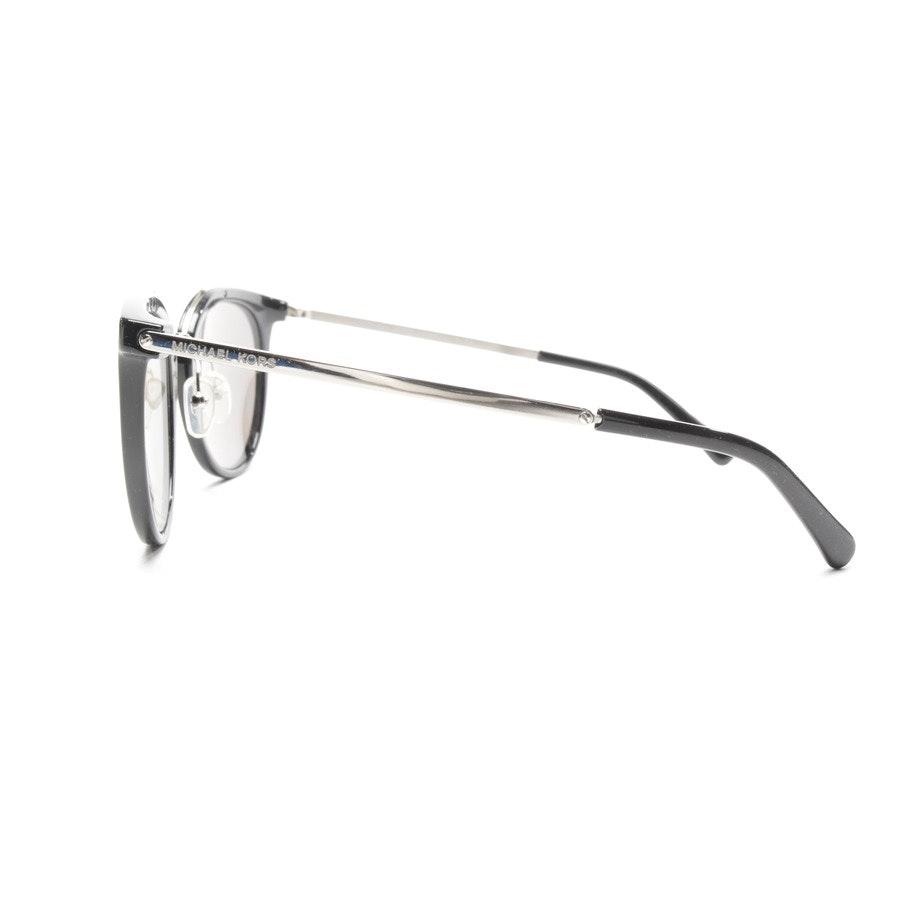 Sonnenbrille von Michael Kors in Schwarz und Silber - Ila