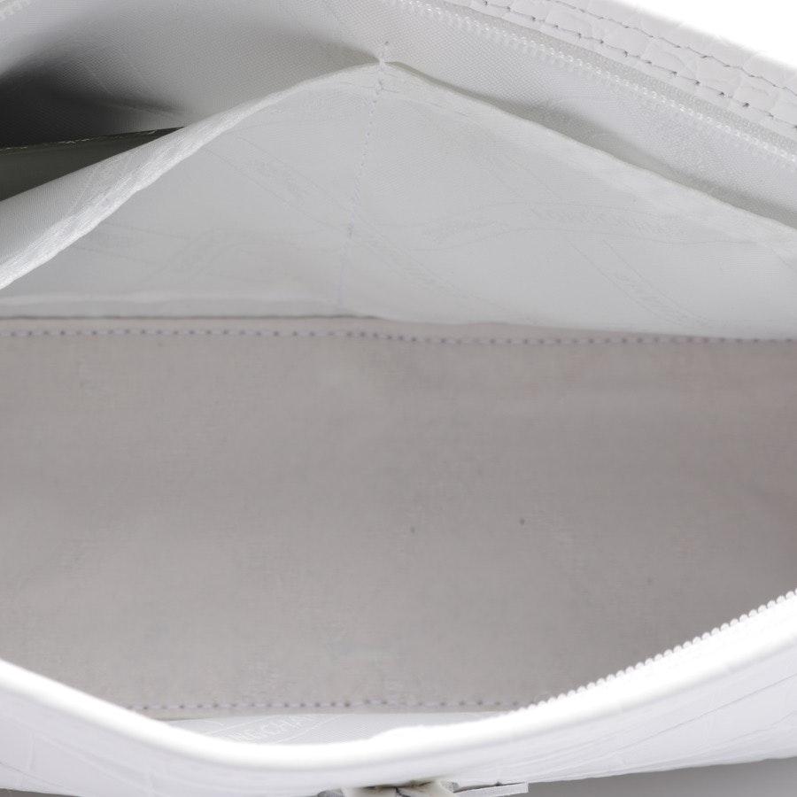 Schultertasche von Longchamp in Weiß