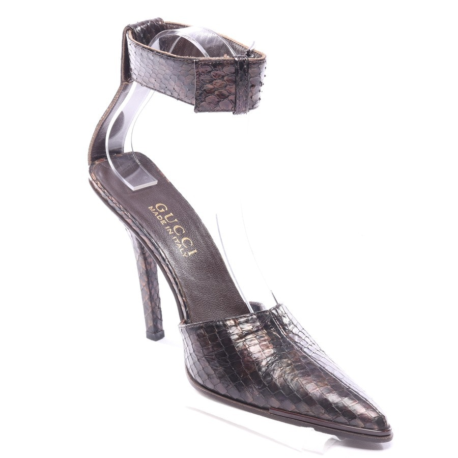 pumps from Gucci in brown size EUR 37 - new
