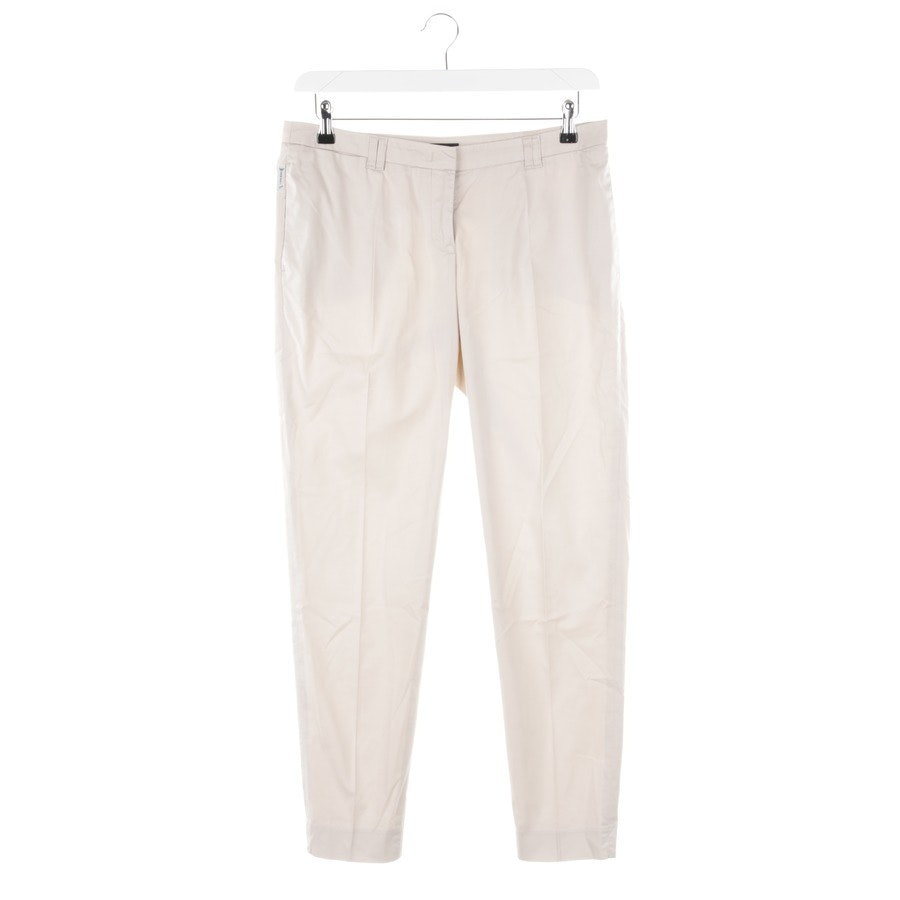 trousers from Armani Jeans in ecru size 40 IT 46
