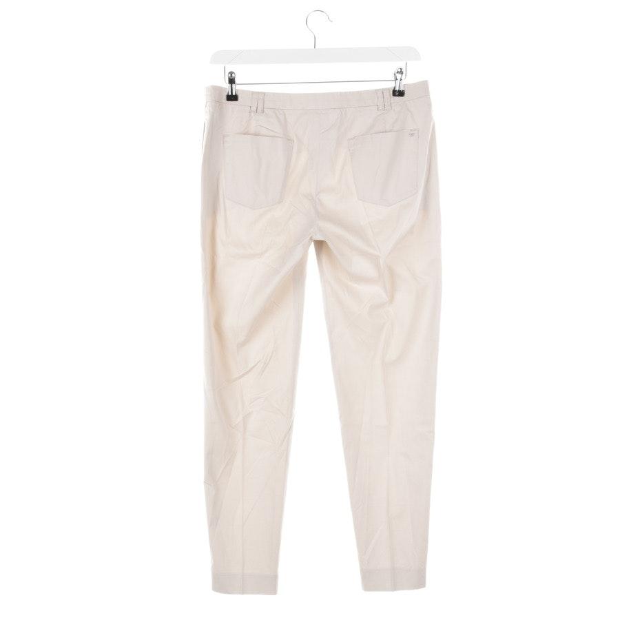 trousers from Armani Jeans in ecru size 40 IT 46