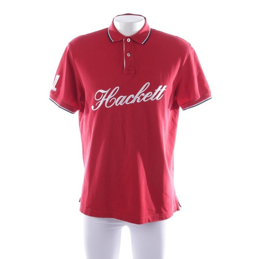 Poloshirt von Hackett London in Rot und Mehrfarbig Gr. L