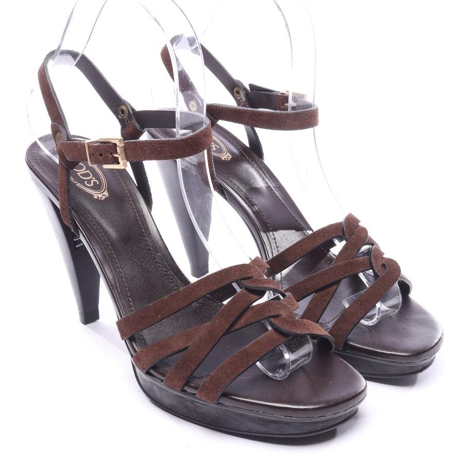 Sandaletten von Tod´s in Dunkelbraun Gr. EUR 38