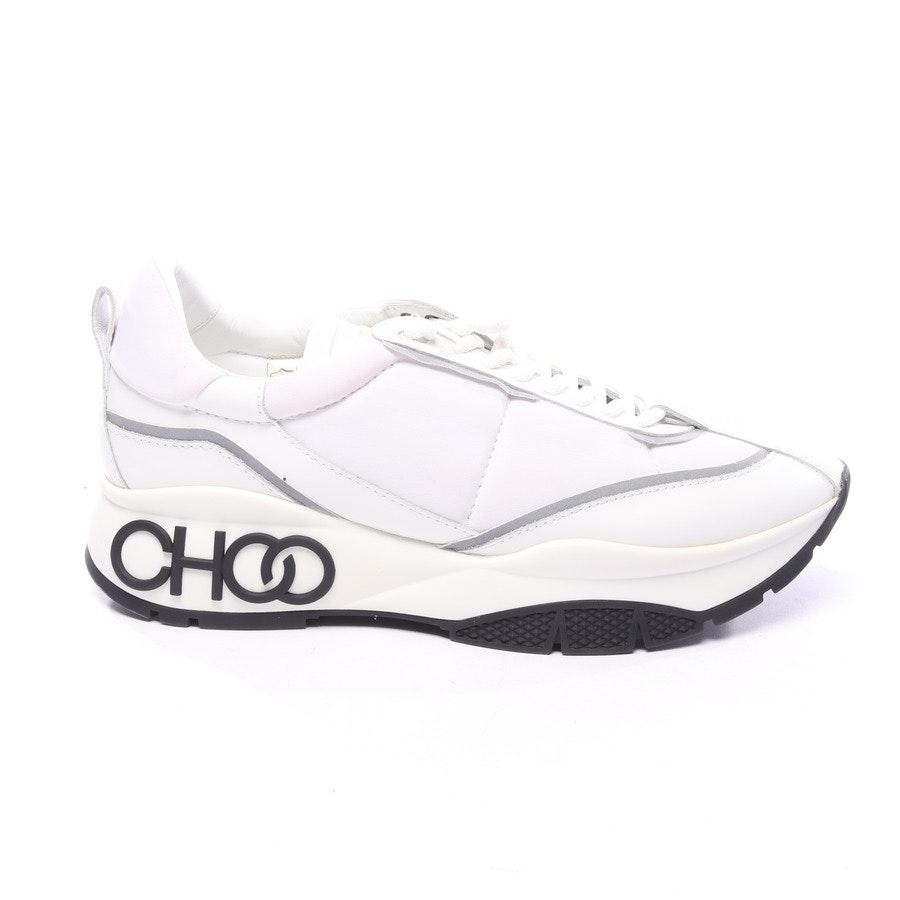 Sneakers von Jimmy Choo in Weiß und Schwarz Gr. EUR 41 - Neu