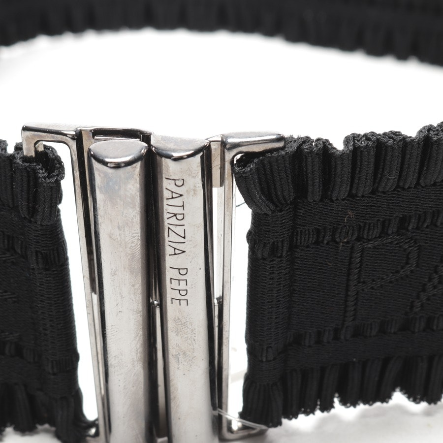 belt from Patrizia Pepe in black size 70 cm