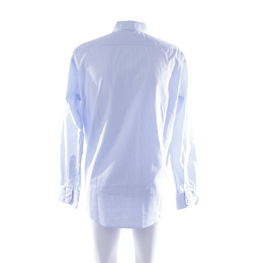casual shirt from Hugo Boss Black Label in sky blue and white size 41-42