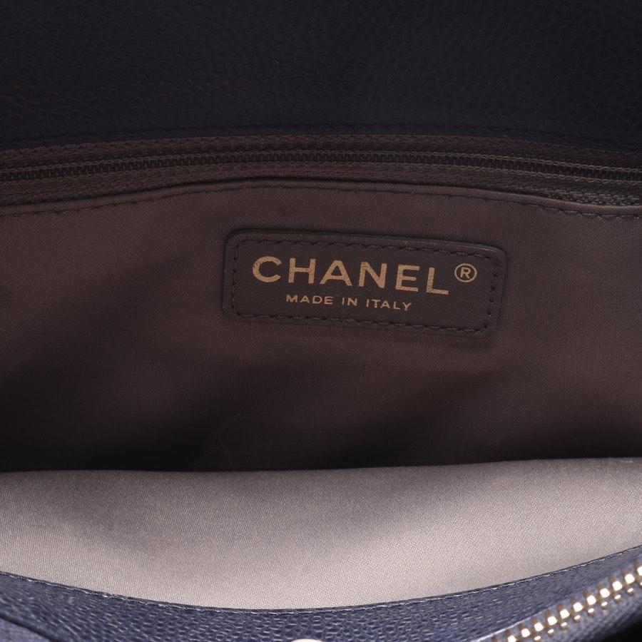 Schultertasche von Chanel in Dunkelblau - Grand Shopping Tote
