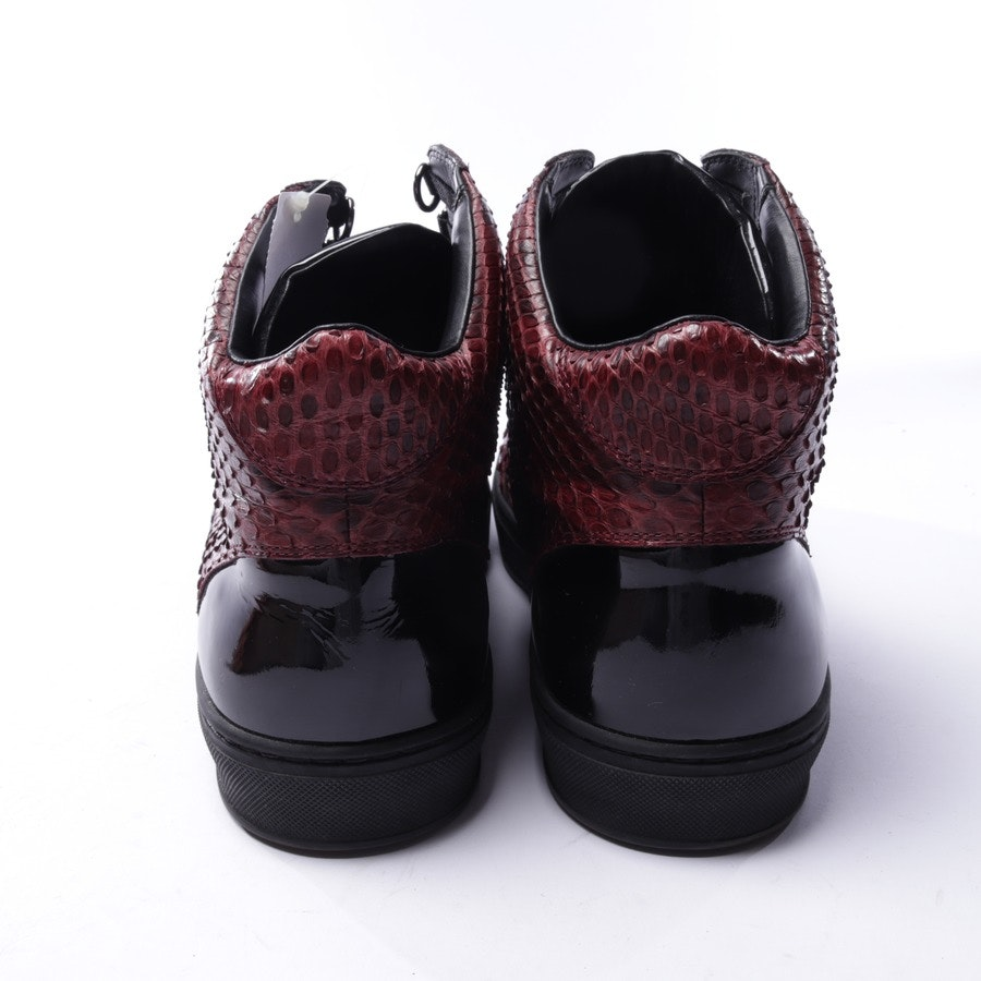 trainers from Louis Vuitton in wine red and black size EUR 42 UK 8