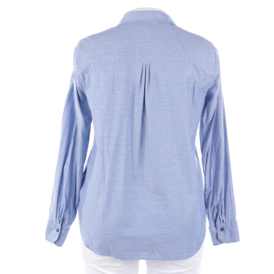 Bluse von Marc O'Polo in Blau und Weiß Gr. 40
