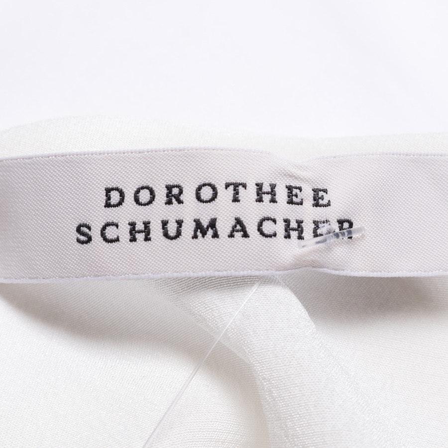 Trägertop von Dorothee Schumacher in Creme und Weiß Gr. 34 / 1