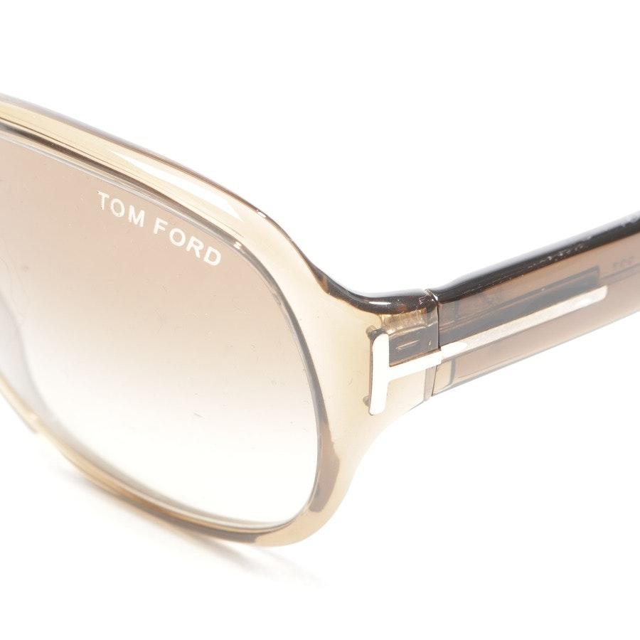 Sonnenbrille von Tom Ford in Braun - Hutton