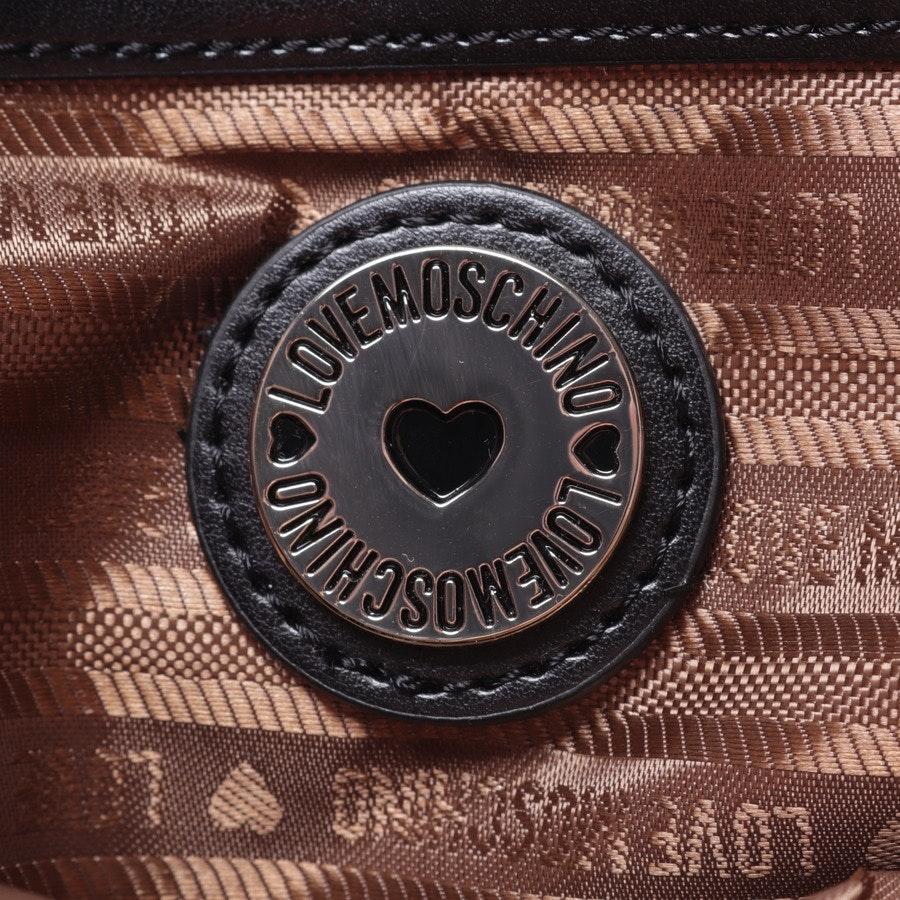 Schultertasche von Love Moschino in Zartrosa