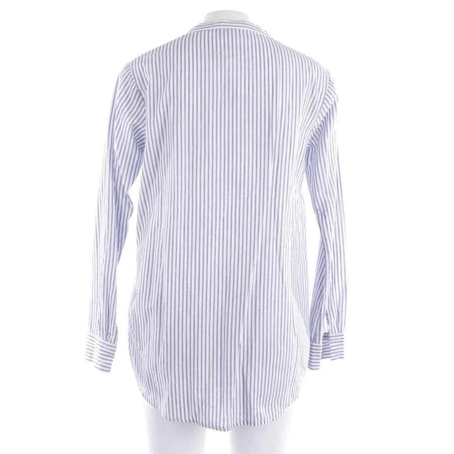 Blusenshirt von 81 hours in Weiß und Blau Gr. S