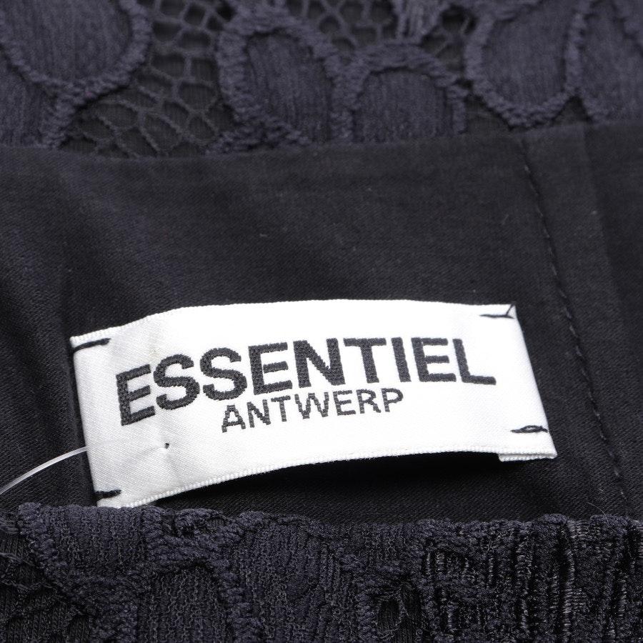 Spitzenmidirock von Essentiel Antwerp in Schwarz Gr. 38 / 3