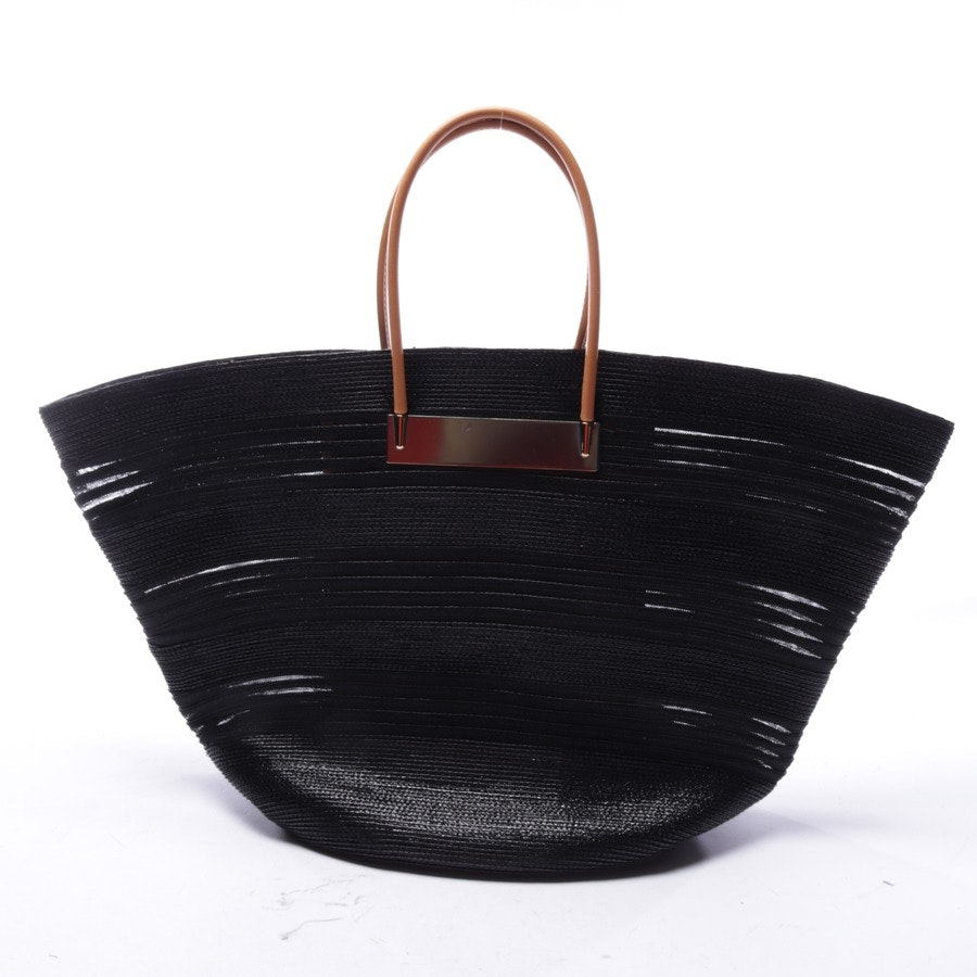 handbag from Balenciaga in black - cabel raffia maxi baskett - new