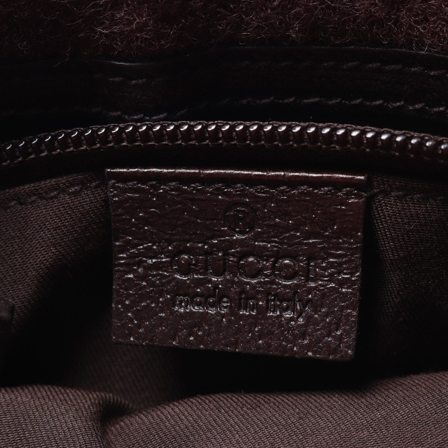 shoulder bag from Gucci in brown and beige