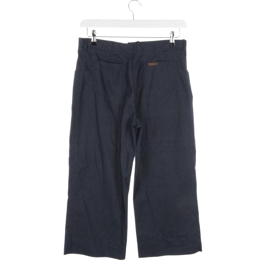 Hose von Chanel in Blau Gr. 38 FR 40