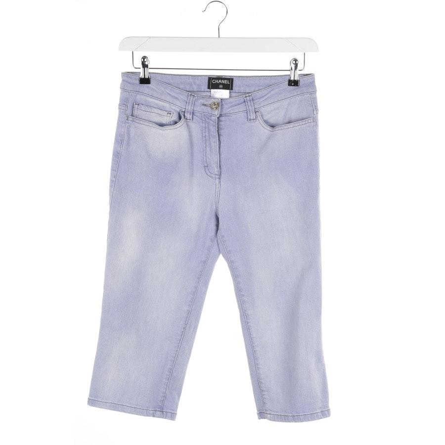 Jeans von Chanel in Lila Gr. 38 FR 40