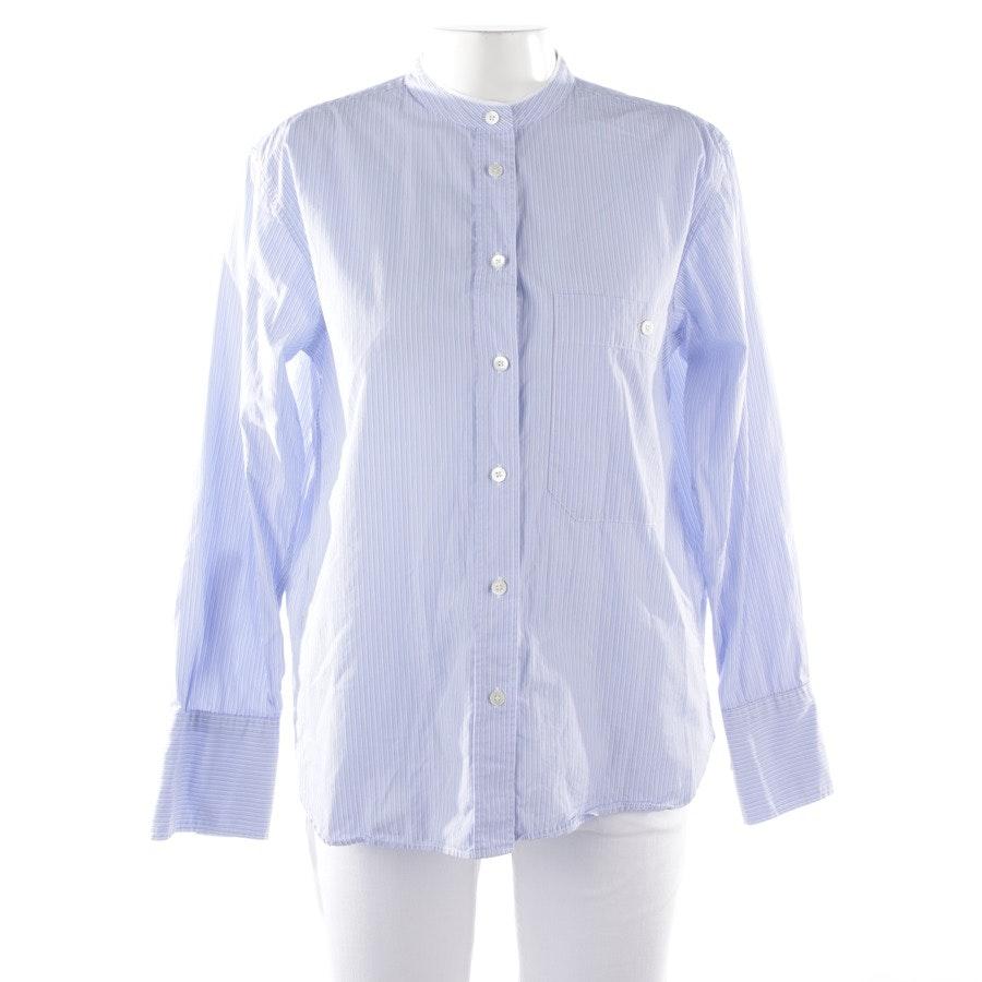 Bluse von Closed in Blau und Weiß Gr. M - Rowan