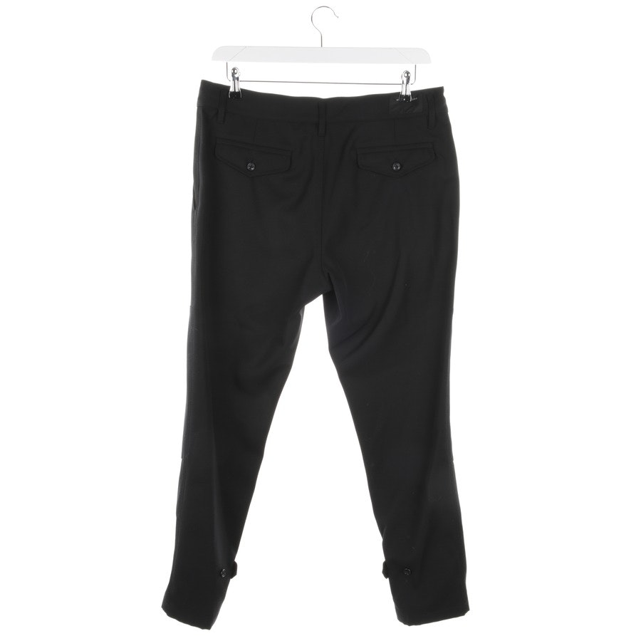 trousers from Marc Jacobs in black size 50