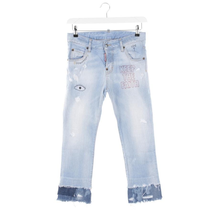 Jeans von Dsquared in Hellblau Gr. 32 IT 36
