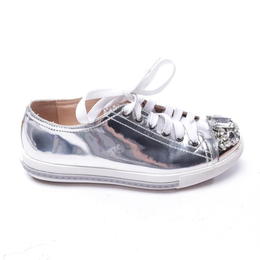 Sneaker von Miu Miu in Silber Gr. EUR 36
