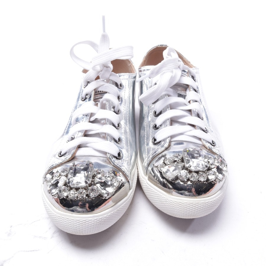 trainers from Miu Miu in silver size EUR 36