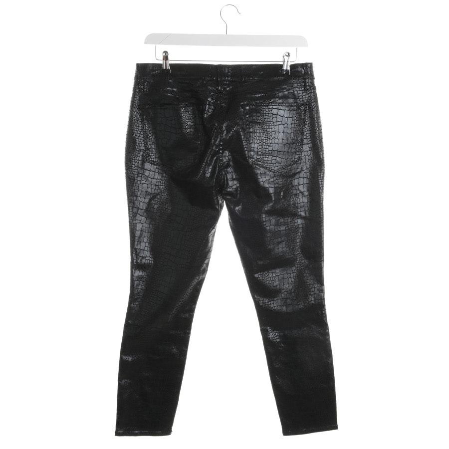 Hose von Frame in Schwarz und Braun Gr. W32 - Le High Skinny
