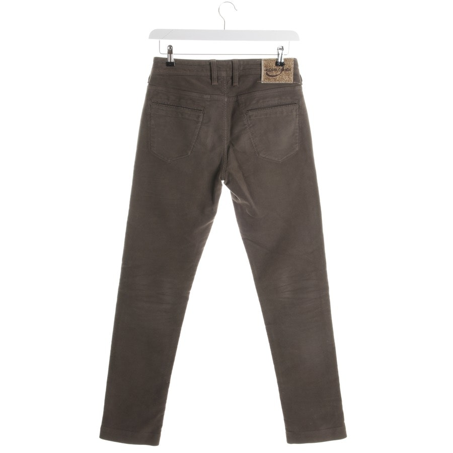 trousers from Jacob Cohen in green size W31
