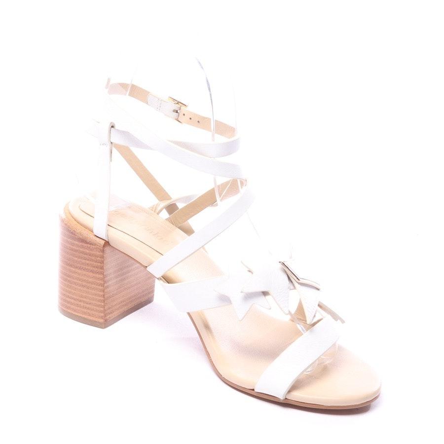 Sandaletten von See by Chloé in Weiß Gr. EUR 36