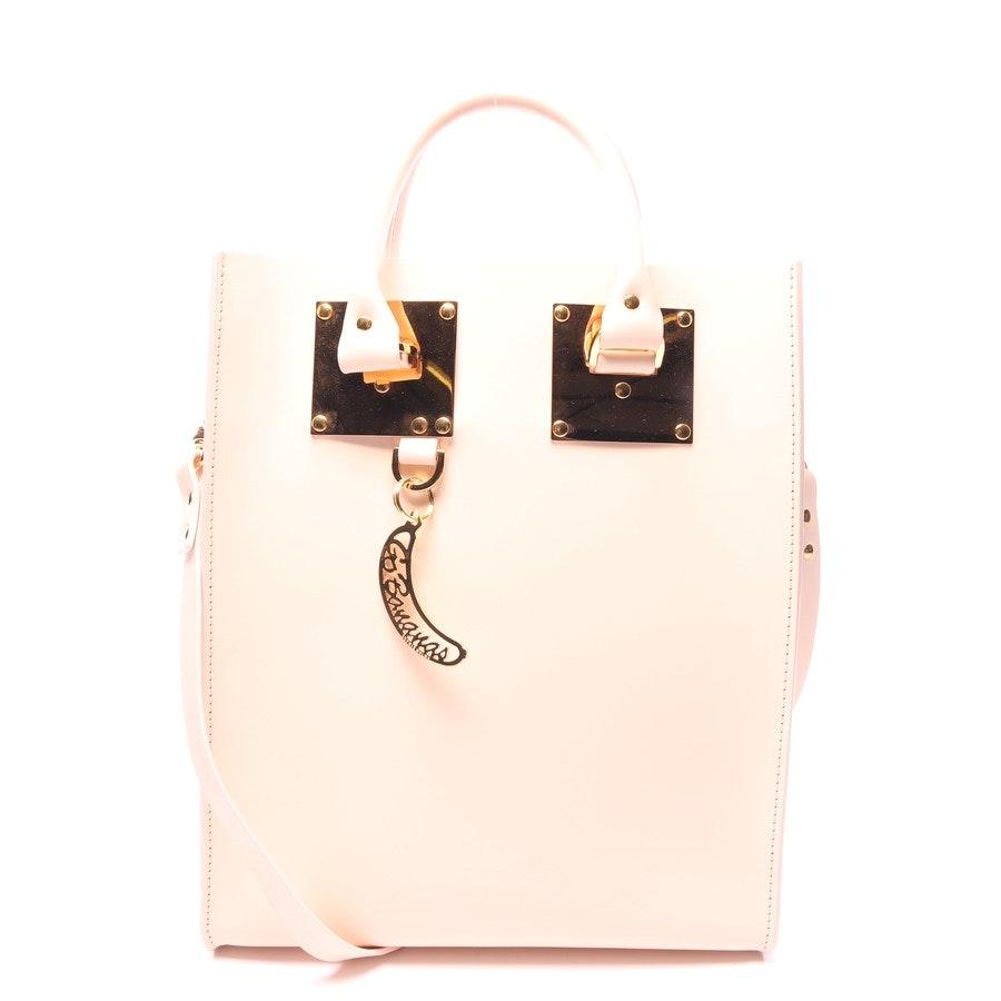 Handtasche von Sophie Hulme in Zartrosa