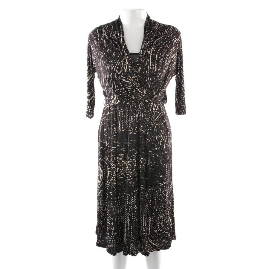 Kleid von Max Mara in Schwarz und Beige Gr. 34 IT 40
