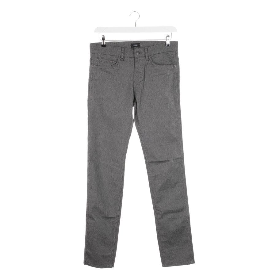 trousers from Hugo Boss Black Label in grey mottled size W31