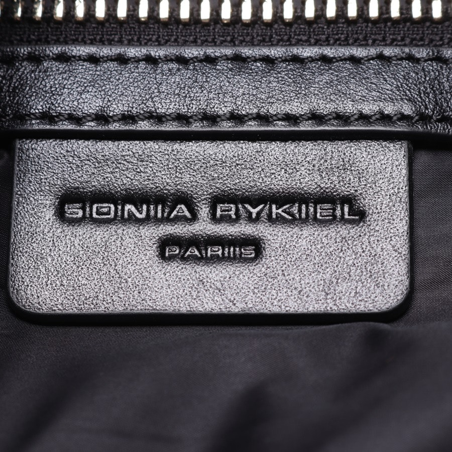 shoulder bag from Sonia Rykiel in black and blue