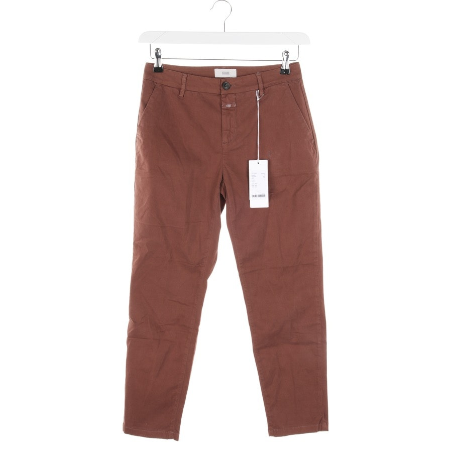 trousers from Closed in maroon size W25 - new
