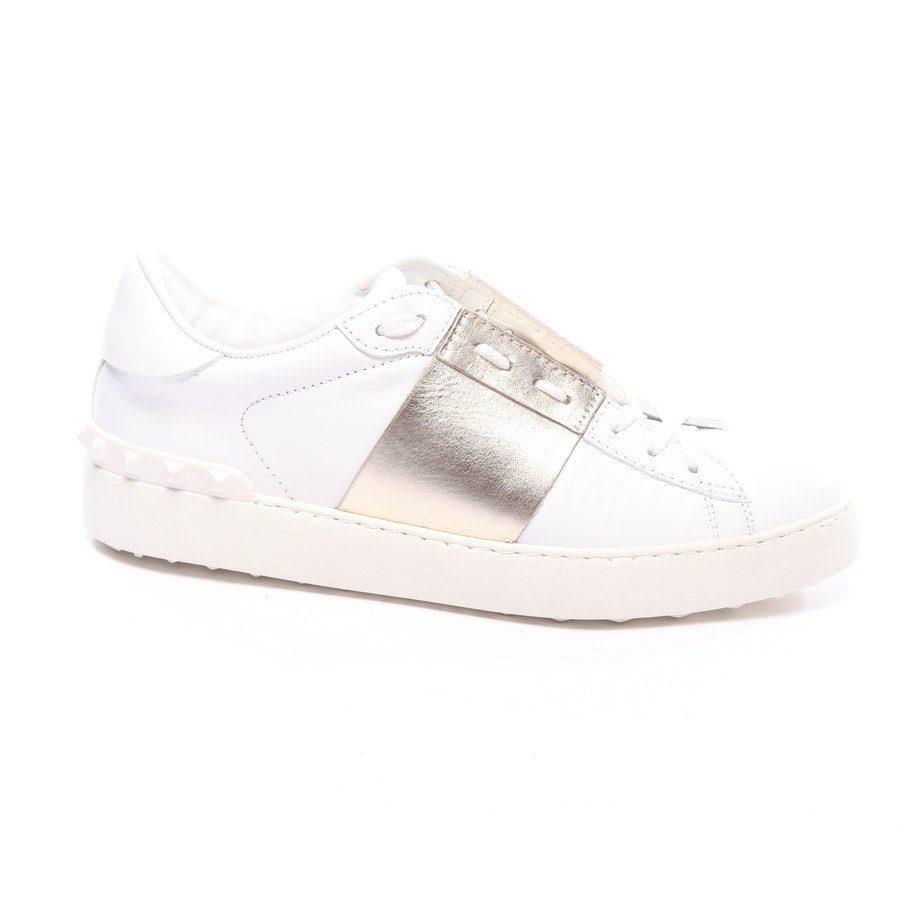 trainers from Valentino in white and gold size EUR 41 - rockstud - new