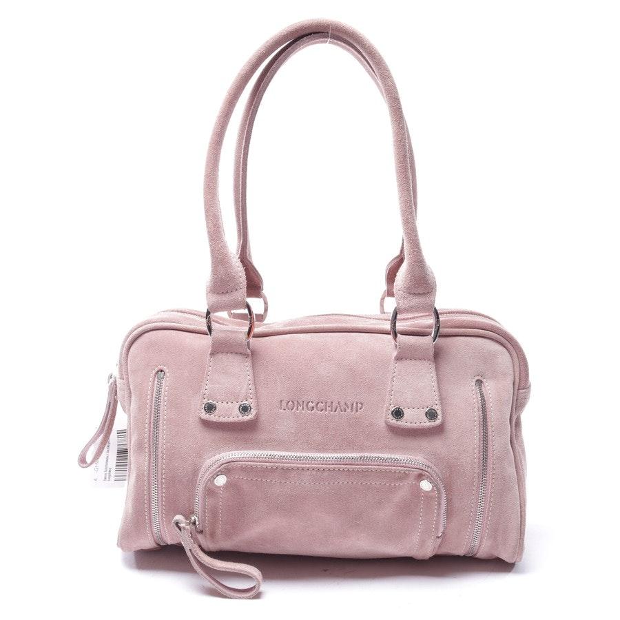 Schultertasche von Longchamp in Altrosa