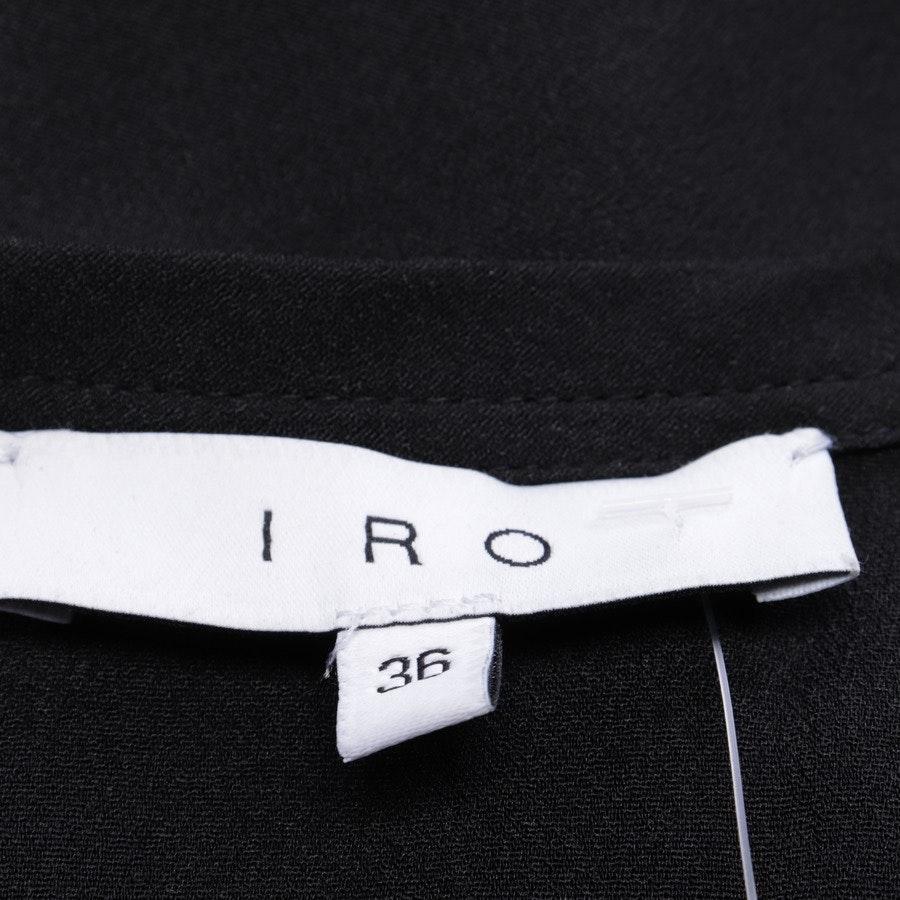 Kleid von Iro in Schwarz Gr. 34 FR 36