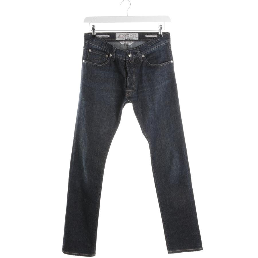 Jeans von Jacob Cohen in Dunkelblau Gr. W32