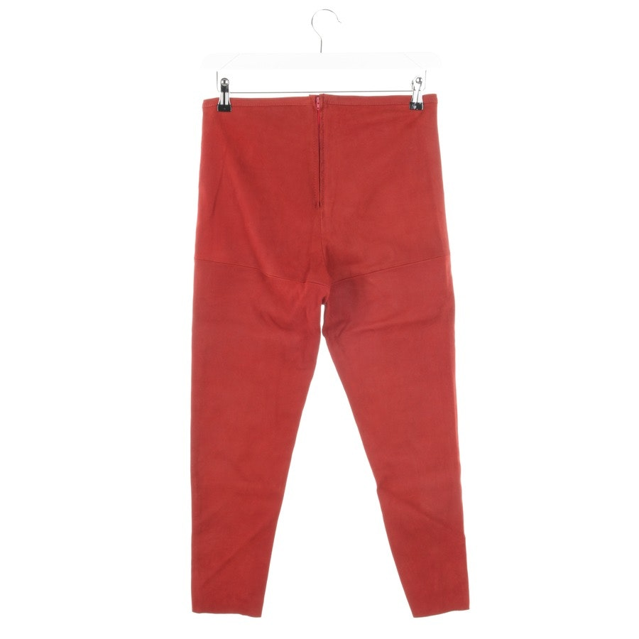 trousers from Utzon in auburn size 42